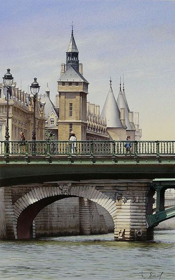 The Clock Tower and the Pont Notre-Dame