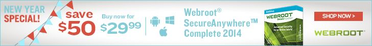Win Webroot Internet Security Complete – 10 Winners! (Ends 2/24)