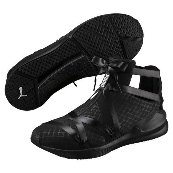 50688fa325 Puma Women's Sneakers Fierce Rope Satin En Pointe Black 190538-02 ...