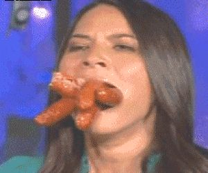 Her Lust for Sausages is Really Getting Out of Control
