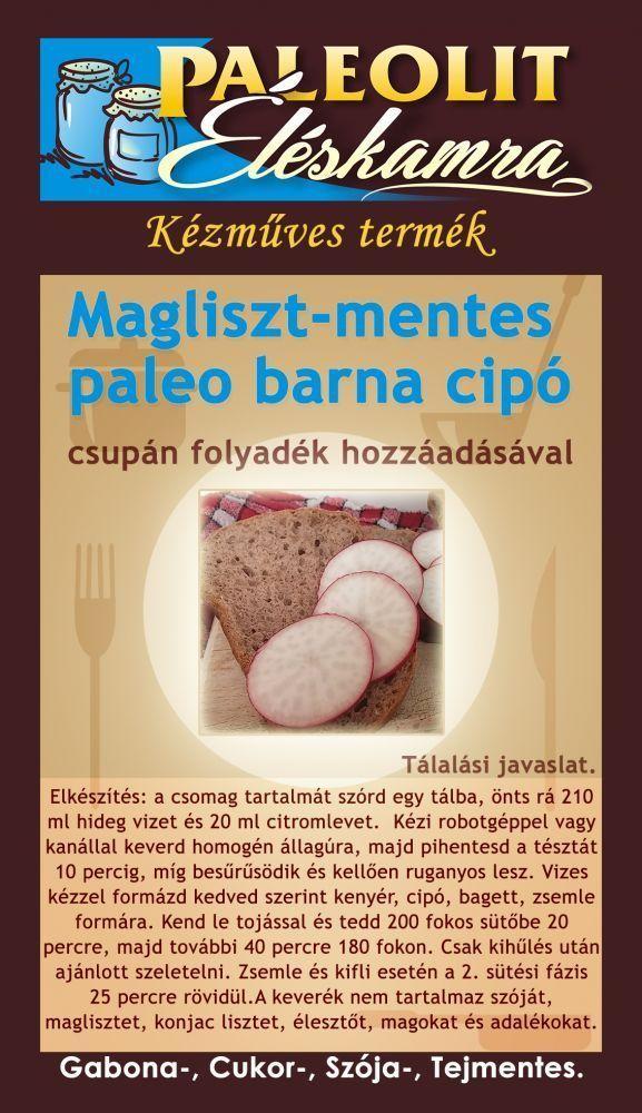 Paleo Barna Cipó 170g Paleolit Éléskamra