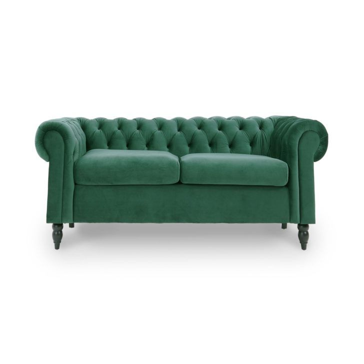 Interior Design Canape Velours Vert Canapes Velours Vert Canape Canape Places En Winston Angle Non Convertible Table A Manger Bois Blanc Ja Love Seat Sofa Home