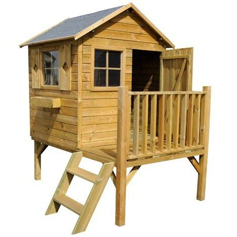 17 best ideas about cabane en bois enfant on pinterest - Leroy merlin maisonnette ...
