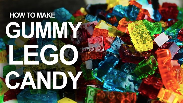 Simple and delicious. LEGO gummy candy recipe perfect for kids.