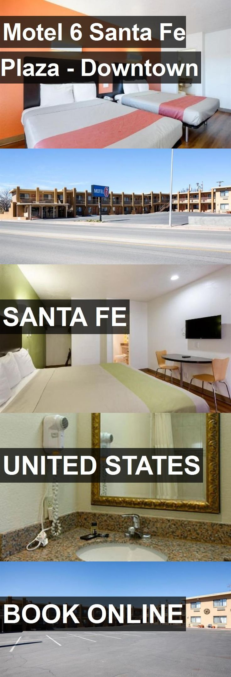 Hotel Motel 6 Santa Fe Plaza - Downtown in Santa Fe, United States. For more information, photos, reviews and best prices please follow the link. #UnitedStates #SantaFe #travel #vacation #hotel