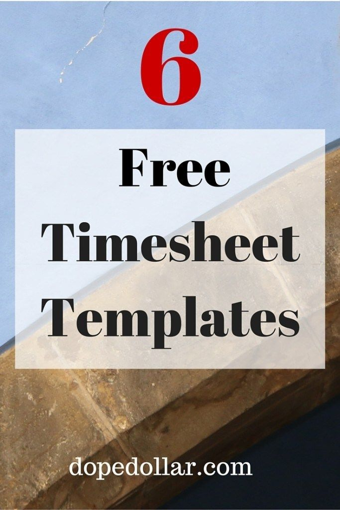 best time sheet templates for businesses