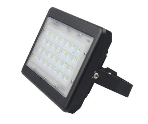 Mejores 54 imgenes de outdoor led light canopy flood lights corn led flood light 50 watt 5700k black finish aloadofball Image collections