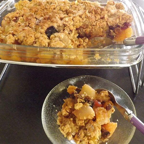 La #recette du granola pomme poire flocons de châtaigne sans gluten ? C'est par ici >>