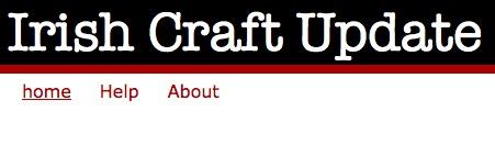 Craft News Blog by Karen Harper. Shortlisted in the Best Craft Blog Category in the 2012 Blog Awards Ireland.
