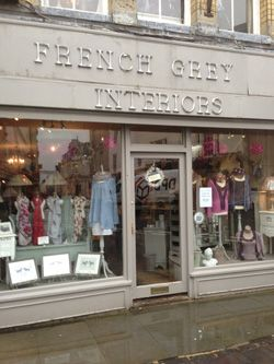 French Grey Interiors Cirencester Interiors, accessories, clothing and jewellery.  All stylish, and always bustling. www.frenchgreyinteriors.co.uk