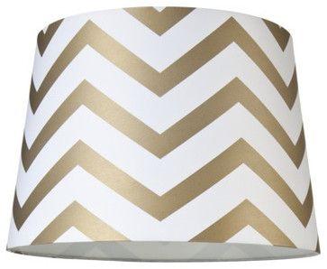 Chevron Lamp Shade - contemporary - lamp shades - Target