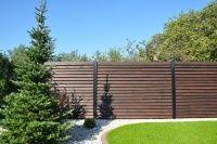 Progres Ogrodzenia Częstochowa :: Galeria :: Ogrodzenia drewniane - bramy segmentowe, centrum ogrodzeń, montaż ogrodzeń