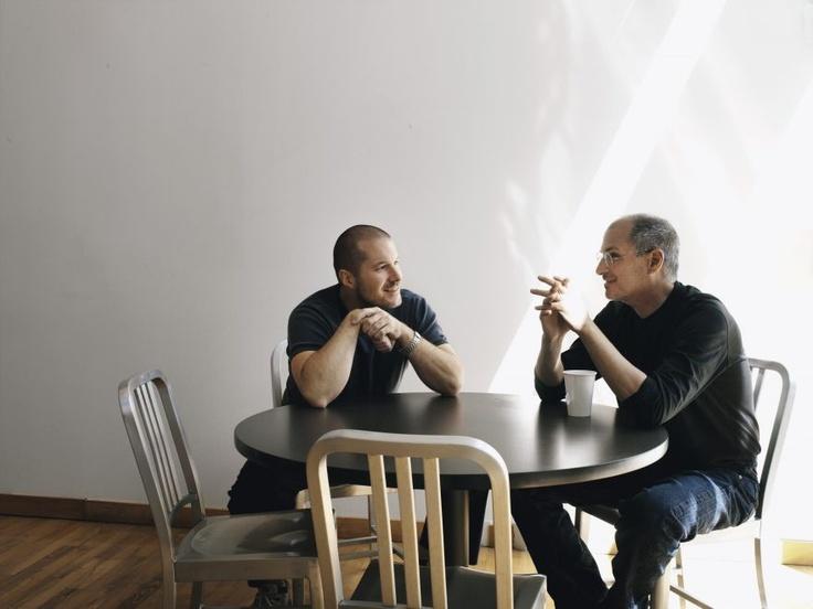 Jonathan Ive & Steve Jobs