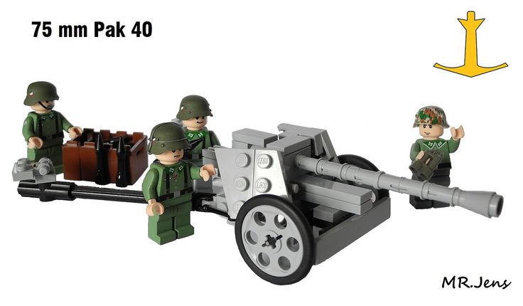 75 mm Pak 40 WWII LEGO | by MR. Jens