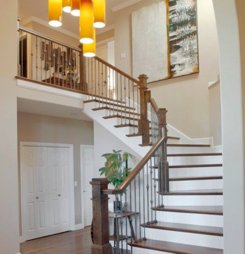 40 Trending Modern Staircase Design Ideas And Stair Handrails: 94 Best Images About Stairs On Pinterest