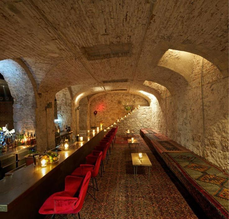 Ocaña Bar and Club in Barcelona / Ocaña Barcelona Hotel Interior Designs