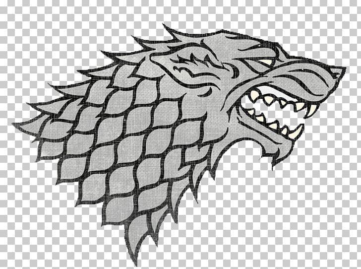 A Game Of Thrones House Stark House Targaryen Bran Stark Sigil Png Art Artwork Black Black And White Bran Stark Stark Sigil Sigil Stark