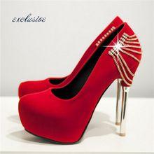 Sapatos de Fundo vermelho Bombas Tamanho Das Mulheres 13 Saltos De Salto Do Metal Stiletto Leopardo Nubuck Preto Rue de Casamento Branco Sexy Com Alta sapatos(China (Mainland))
