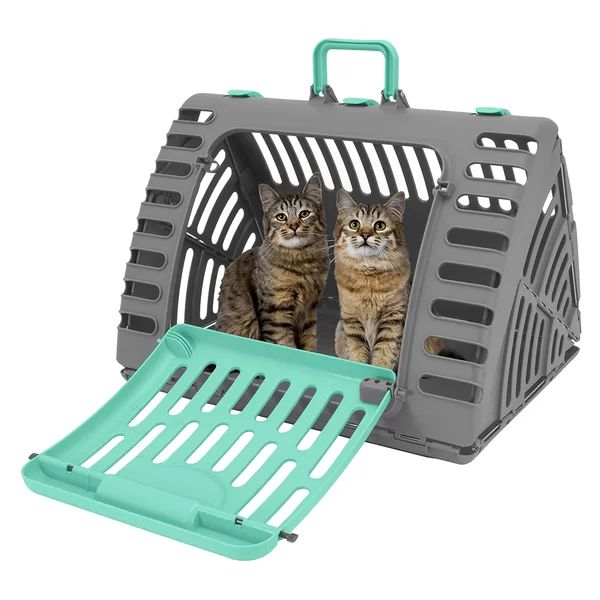 Cales Extra Large Cat Pet Carrier In 2020 Cat Carrier Pet Carriers Large Cats