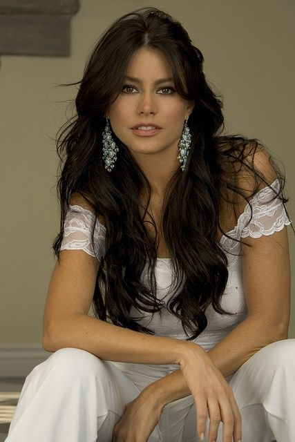 Sofia Vergara has to be the most beautiful woman on TV - gorgeous.  Photo Credit: Barry Peele by Latin World Entertainment, via Flickr