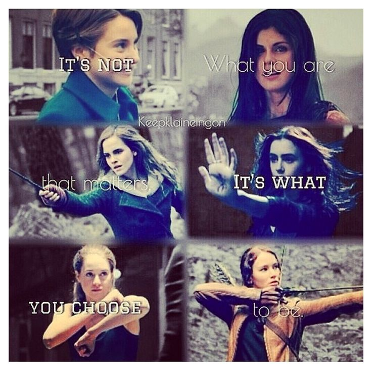 "Hazel Grace Lancaster (The Fault In Our Stars) Annabeth Chase (Percy Jackson and the Olympians and The Heroes Of Olympus Series) Hermione Granger (The Harry Potter Series) Clarrissa ""Clary"" Fray (The Mortal Instruments Series) Beatrice ""Tris"" Prior (Divergent Series) Katniss Everdeen (The Hunger Games Trilogy)"