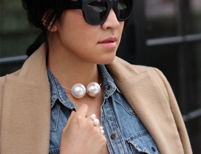 anel chanel/ anel de pérolas/ diy/ chanel ring style