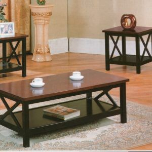 Cherry Coffee And End Table Sets