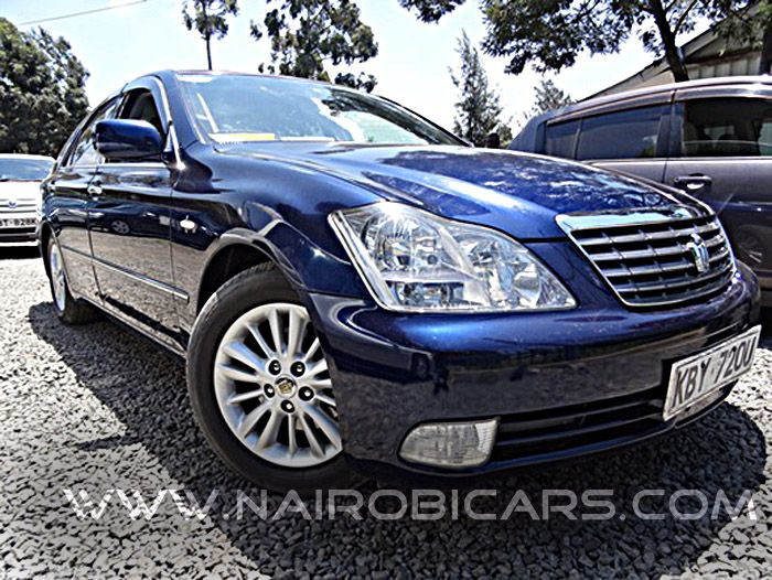 The best prices on new and used cars in Kenya @ www.nairobicars.com 2007 Toyota Crown http://www.nairobicars.com/views/Toyota_Crown_Saloon_2007-692/