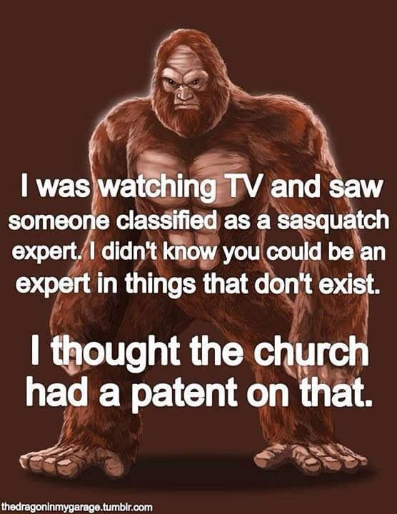 ...seriously... ***Even though I am a Christian I can see the humor in this... :D