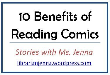 10 Benefits of Reading Comics