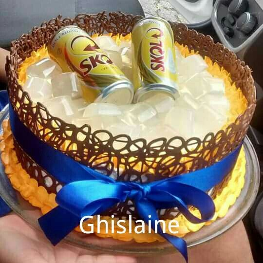 Muito 13 best bolo skol images on Pinterest | Food cakes, Conch fritters  RV68