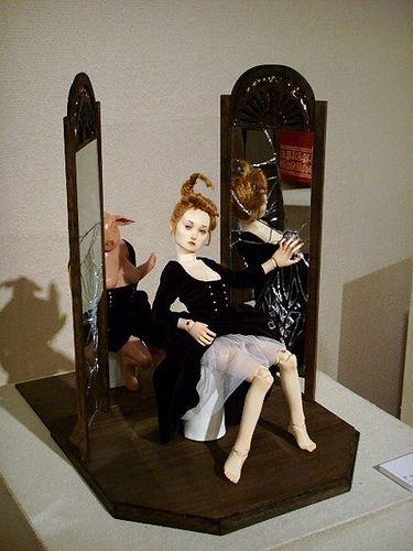 https://flic.kr/p/5w8Ro9 | 'Lie to myself' | 'Lie to myself.' -2006 artist jung-hee Park  exhibit in Hiroshima and Seoul.  Kurashiki an art gallery . 2006/6/27~7/2. 'The World Doll Fair 2006' in Seoul.   2006/12/23~2007/1/1