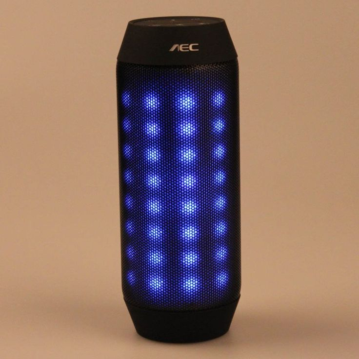 WAYCOM® LED Flashing Light Mini Bluetooth Speaker