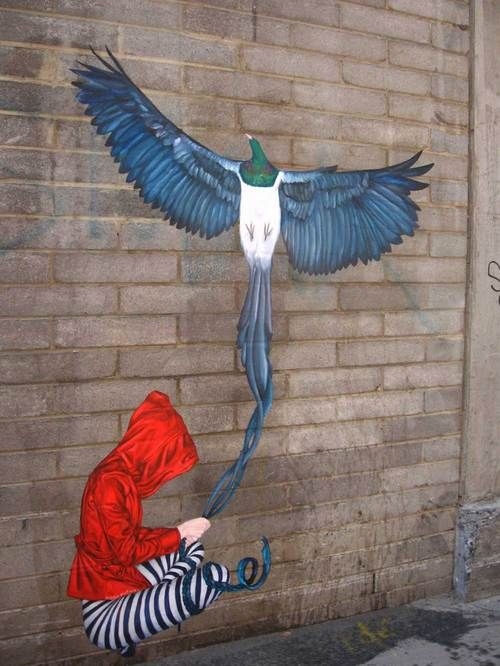 I want to paint one like this, except with the girl holding onto a red phoenix. Maybe have ashes on the ground and smoke curling up?