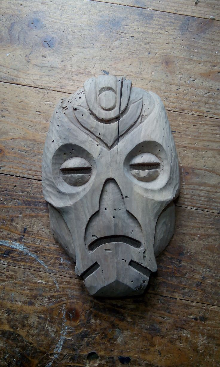 how to make a wooden dragon priest mask