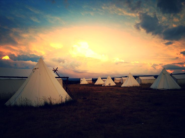 Glamping Tents, Yellowstone