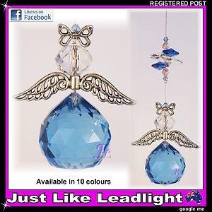 crystal suncatcher angel #5 $10.00