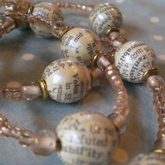 word beads...cover plain wood beads. Too girly? Maybe this could be useful for programming in the future.