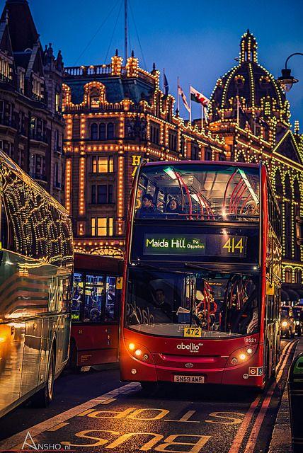 Harrods, London, England.