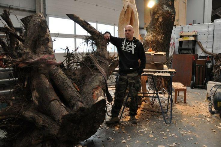 Opdracht Openbare ruimte - Beeldhouwer Jan-Carel Koster | Jan-Carel Koster | Beelden in hout en steen