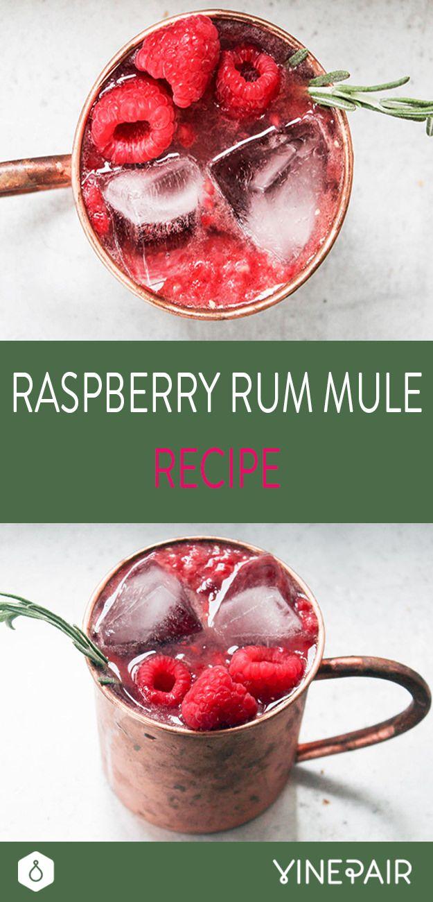 Raspberry Rum Mule…