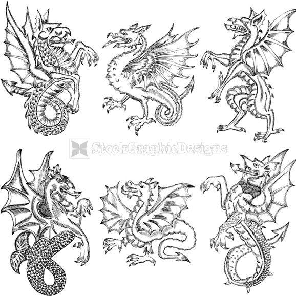 Dragon Heraldry: Heraldry Symbols Dragon - Google Search