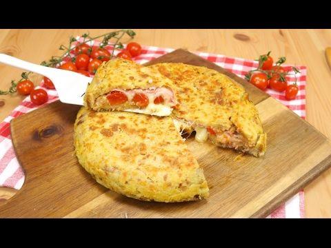 Tortino di pane: l'idea geniale per riciclare il pane raffermo! - YouTube