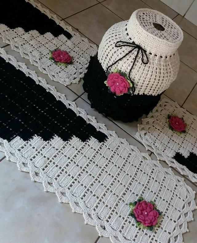 Venha deixar sua casa mais bonita com essas lindas novidades em crochê !