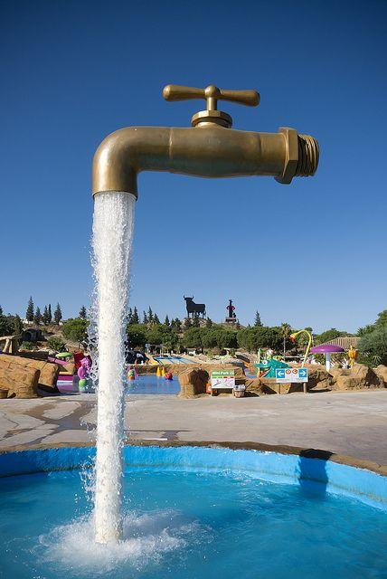 El Grifo M 225 Gico At Aqualand Theme Park In Cadiz Spain