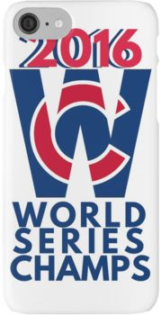 World Series Champs Chicago Cubs 2016 iPhone 7 Cases