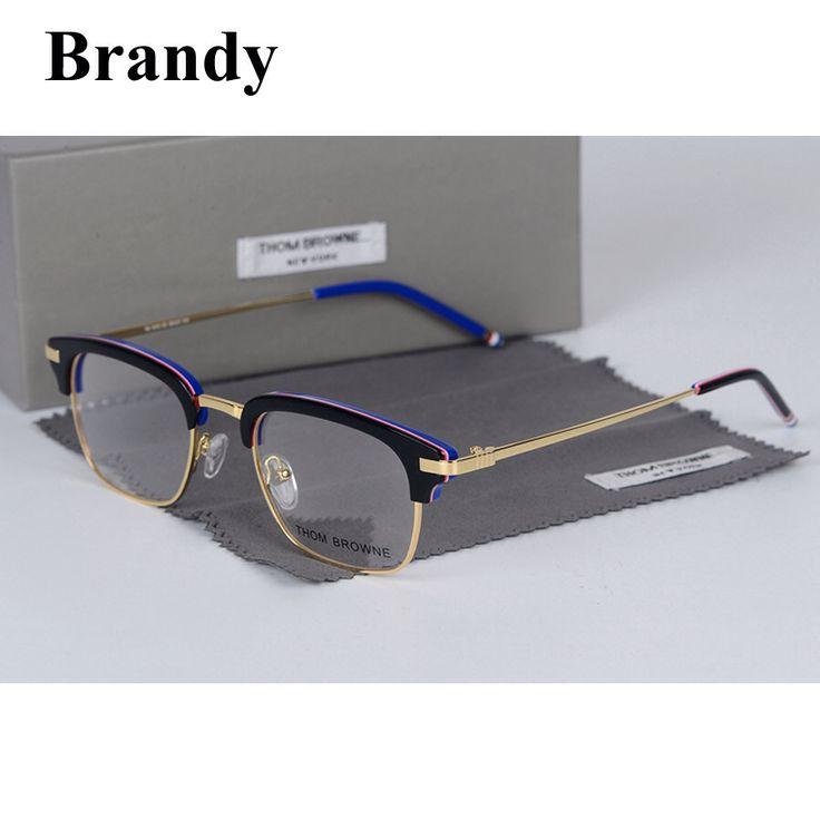 2017 Бренди том браун бренд очки оптические TB707 очки очки кадр мужской óculos де грау Легкие и удобные