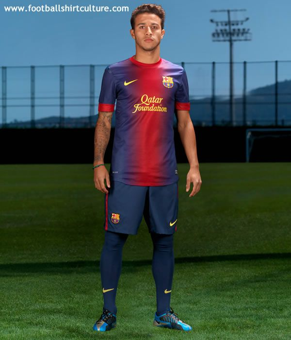 68117ffae Barcelona 12 13 Nike Home Football Shirt. It doesn t look like anything  else that I can think of. I wasn t sure