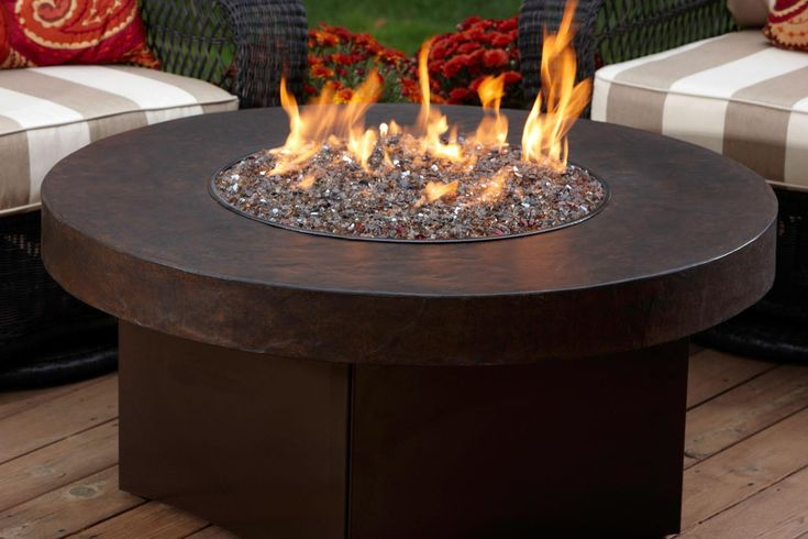 Interesting Outdoor Gas Fire Pit