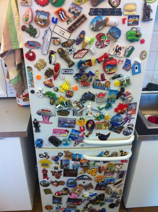 Our collection of magnets!